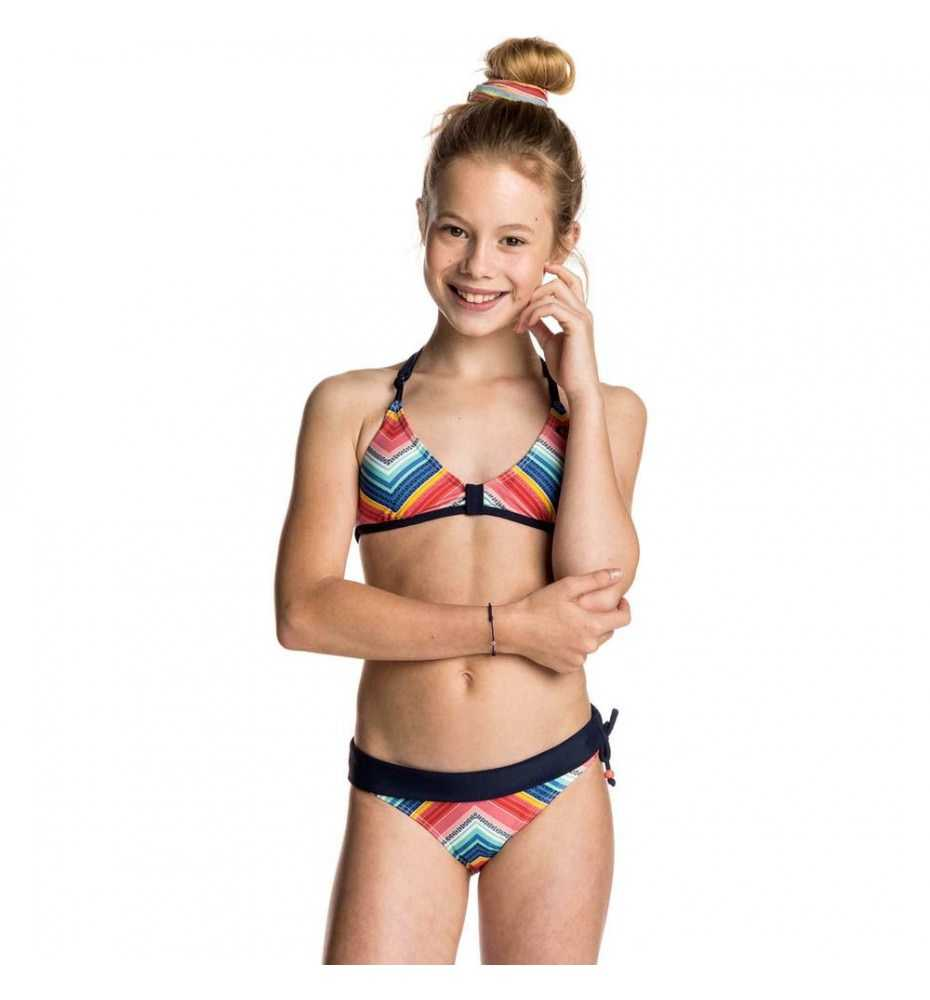 elemento Salida Lío  Bikini de Baño RIP CURL Breaker Tri Setb para Niña