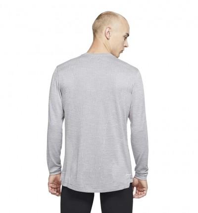 Camiseta M/l Running Nike Techknit Ultra