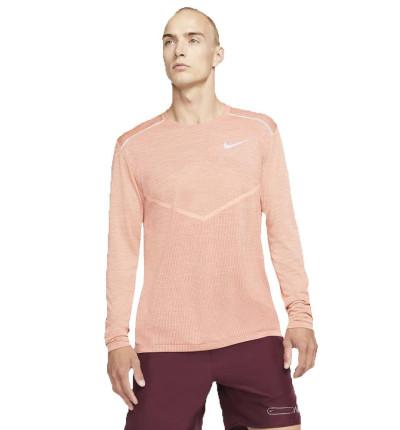 Camiseta M/l Running_Hombre_Nike Techknit Ultra