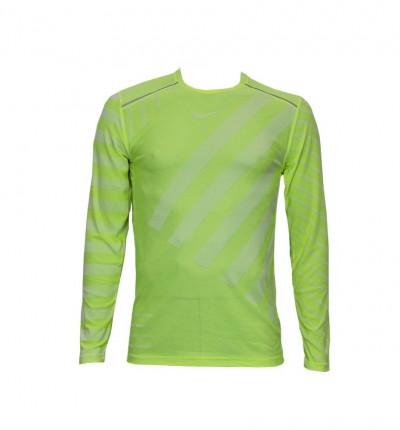 Camiseta Running Hombre NIKE M Nk Tech Knit Cool Ls