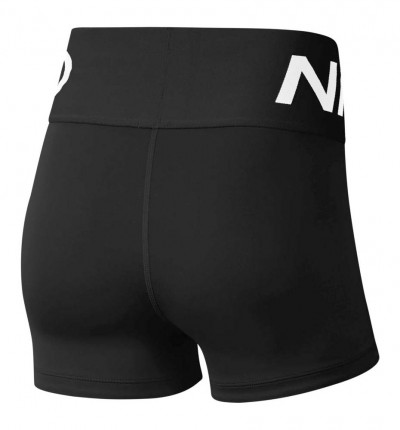 Mallas Short Fitness Nike Pro Stealth Luxe
