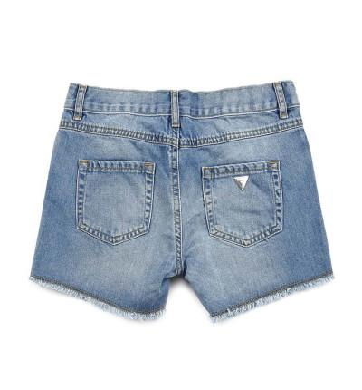 Pantalón Corto Casual_Niña_GUESS Denim Shorts