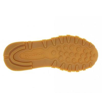 Zapatillas Casual_Hombre_REEBOK Cl Lthr White/gum