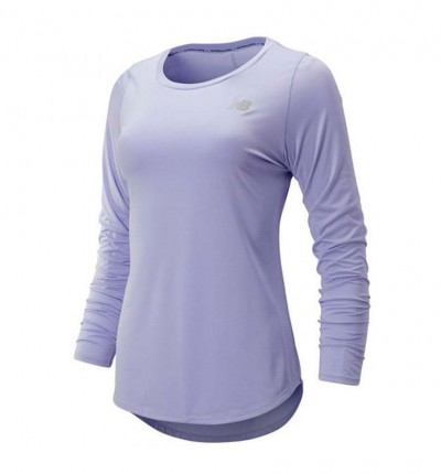 Camiseta M/l Running_Mujer_NEW BALANCE Accelerate M/l