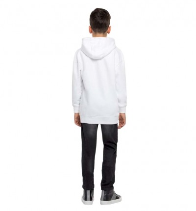 Hoodie Sudadera Capucha Casual_Niño_GUESS Oversize Hooded Act Top Icon
