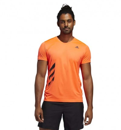 Camiseta M/c Running ADIDAS 3-Stripes
