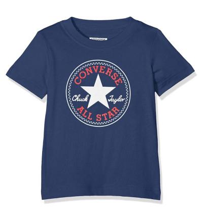 Camiseta Casual_Niño_CONVERSE Chuck Patch Tee