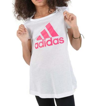 Camiseta M/c Casual_Niña_ADIDAS Yg Mh Bos Tee