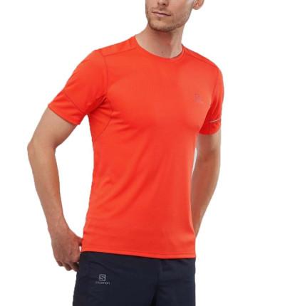 Camiseta M/c Trail Running Hombre Salomon Agile Ss Tee M