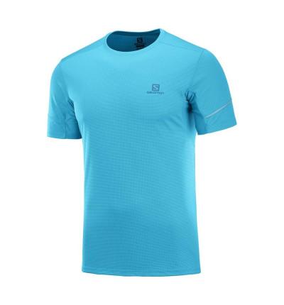 Camiseta M/c Trail_Hombre_SALOMON Agile Ss Tee M