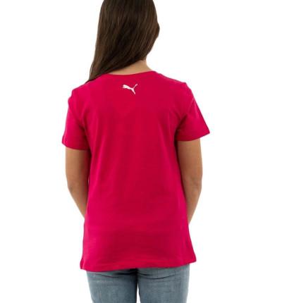 Camiseta M/c Casual_Niña_PUMA Alpha Tee