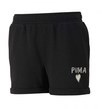 Short Casual_Niña_PUMA Alpha Shorts