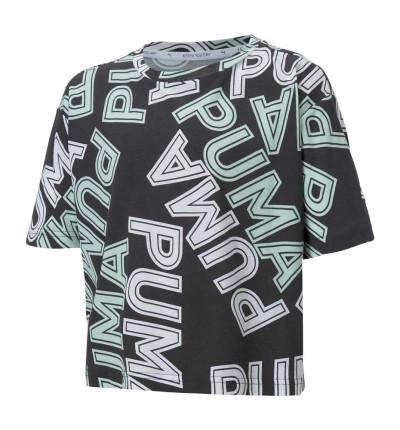 Camiseta M/c Casual_Niña_PUMA Modern Sports Aop Tee