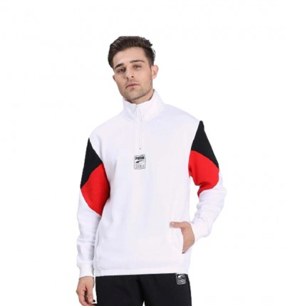 Sudadera Casual PUMA Rebel Half-zip Fl