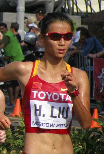 liu hong atleta china marcha