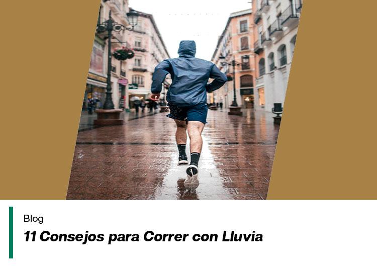 corre aunque llueva