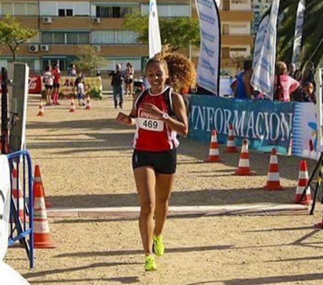 lara atleta federada y runner