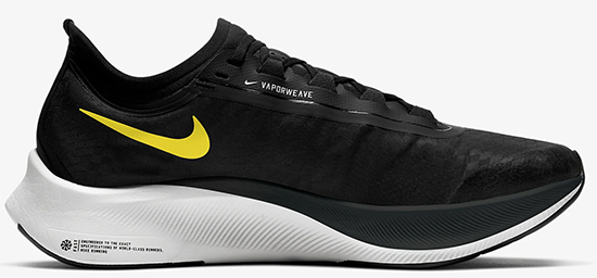 nike zoom fly 3 negras