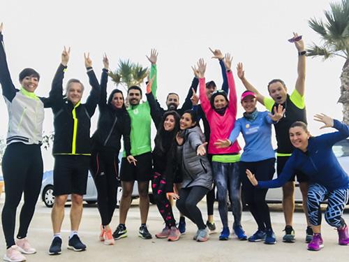 grupo chicas urban runners