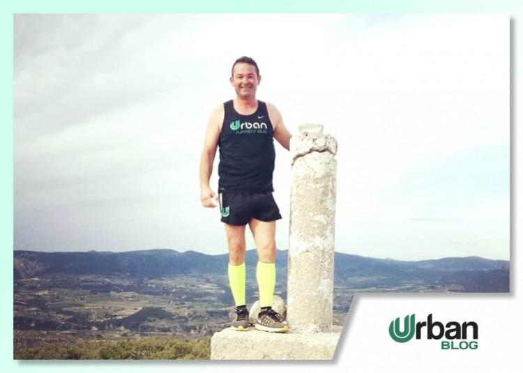 Andrés López, butanero, Urban Runner y maratoniano