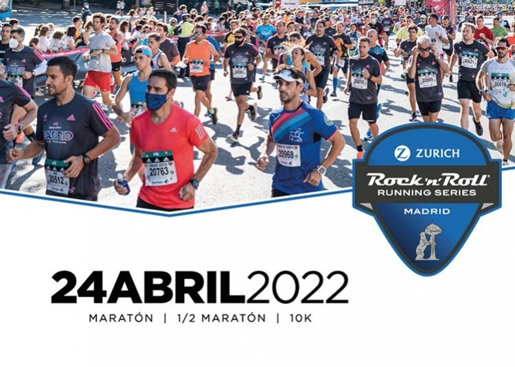 MENOS DE UN MES PARA LA ROCK AND ROLL MARATÓN DE MADRID